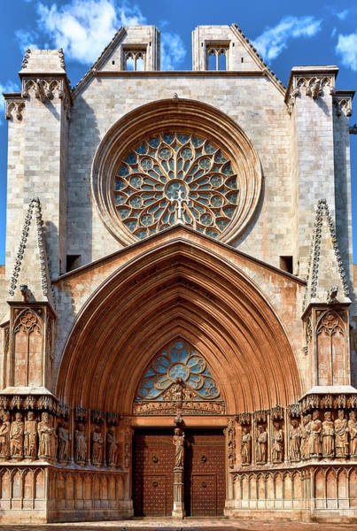 Photograph - The Beautiful Cathedral Of Tarragona by Fine Art Photography Prints By Eduardo Accorinti