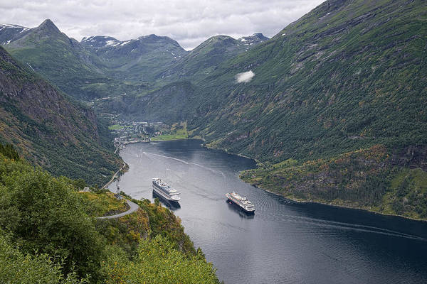 Photograph - The Beautiful Geirangerfjord by Lucinda Walter