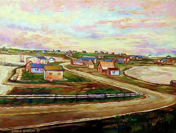 Painting - The Beautiful Skies Of Prince Edward Island by Carole Spandau