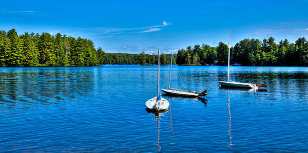 Photograph - The Beautiful White Lake In New York by David Patterson