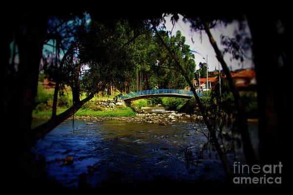 Wall Art - Photograph - The Beauty Of Cumanda Creek In Cuenca II by Al Bourassa