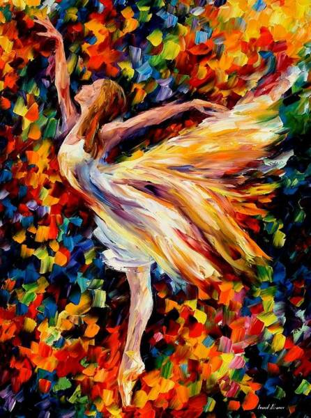 Leonid Wall Art - Painting - The Beauty Of Dance by Leonid Afremov