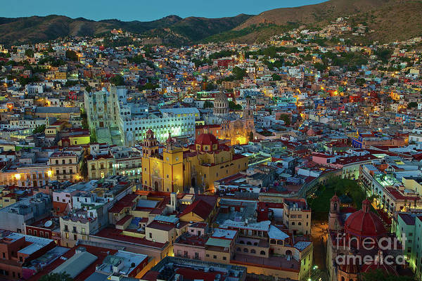 Photograph - The Beauty Of Guanajuato, Mexico At Twilight by Sam Antonio Photography