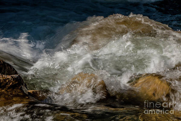 Photograph - The Beauty Of Moving Water by Teresa Wilson