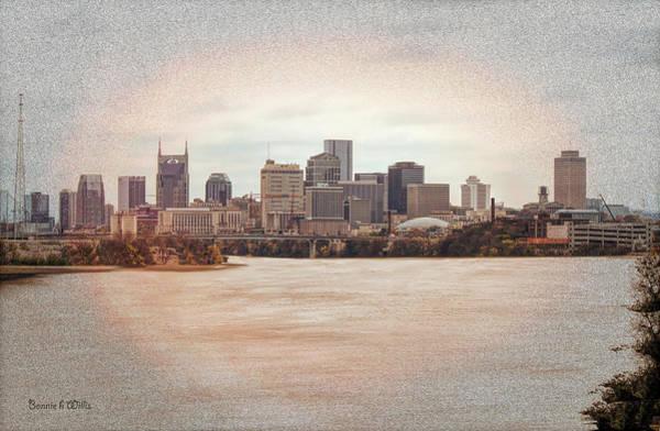 Digital Art - Nashville Tennessee by Bonnie Willis