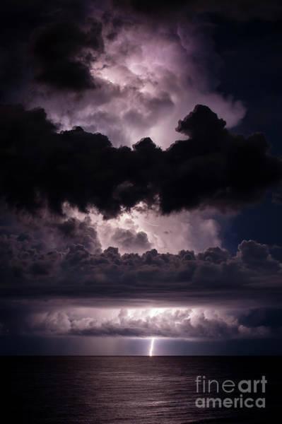 Electric Storm Photograph - Simplicity by Quinn Sedam