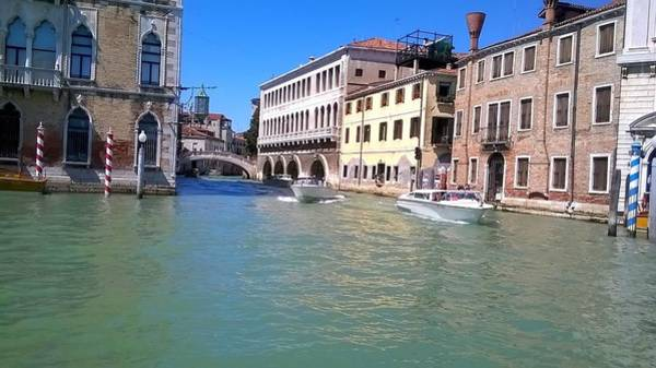 Photograph - The Beauty Of The Grand Canal Venice by Rusty Gladdish