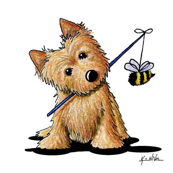 Wall Art - Drawing - The Beekeeper by Kim Niles