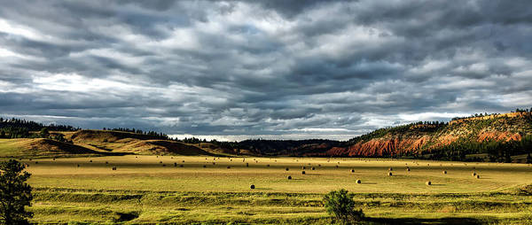 Crooked River Photograph - The Belle Fourche River Valley by Mountain Dreams