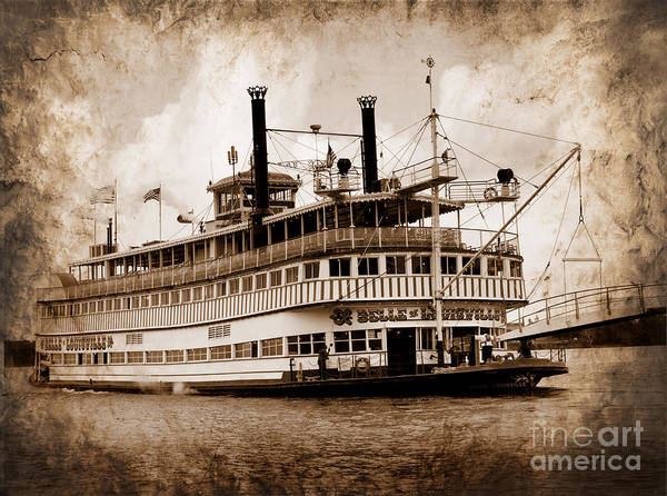Photograph - The Belle Of Louisville Kentucky by Brenda Kean