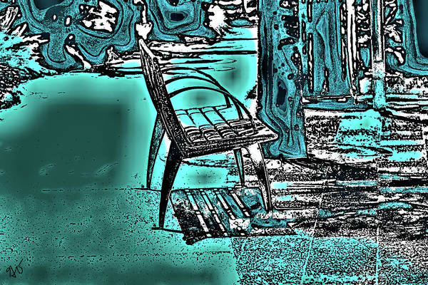 Photograph - The Bench by Gina O'Brien