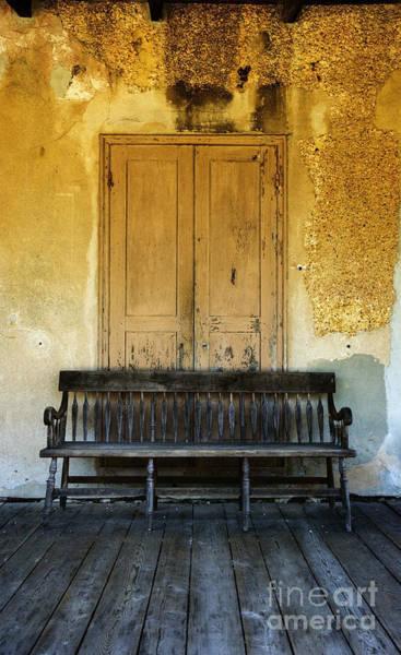 Photograph - The Bench I by Debra Fedchin