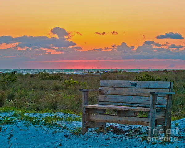 Wall Art - Photograph - The Bench by Stephen Whalen