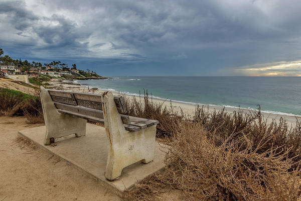 Wall Art - Photograph - The Bench V by Peter Tellone