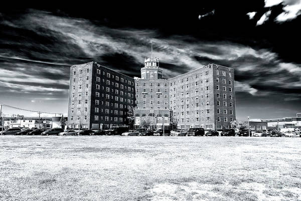 Down The Shore Photograph - The Berkeley Hotel Asbury Park by John Rizzuto