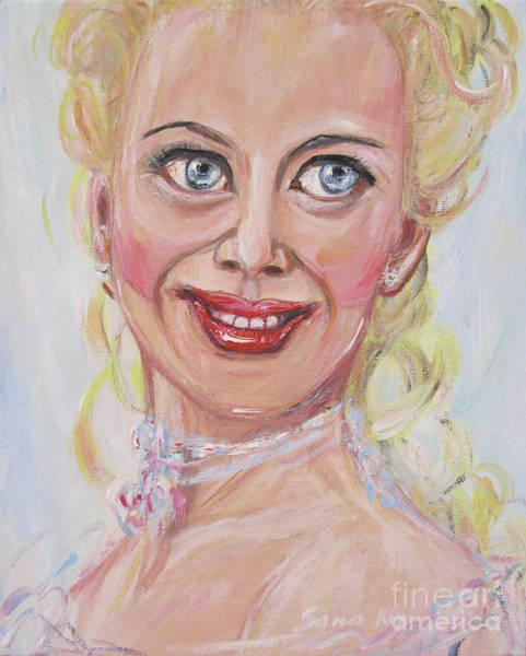Painting - The Best Actress by Oksana Semenchenko