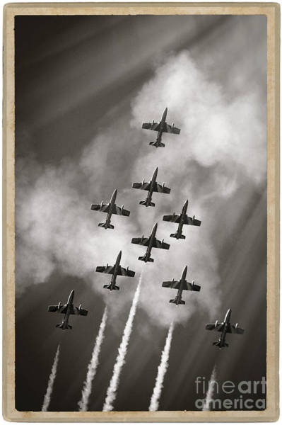 Aermacchi Photograph - The Best Aerobatic Team by Stefano Senise