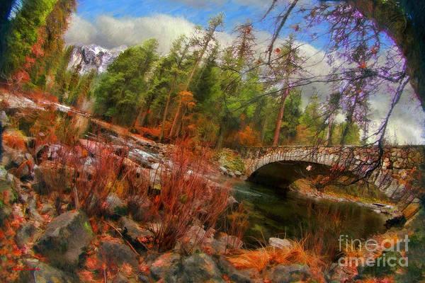 Photograph - The Best Side Of The Sentinel Bridge Yosemite  by Blake Richards