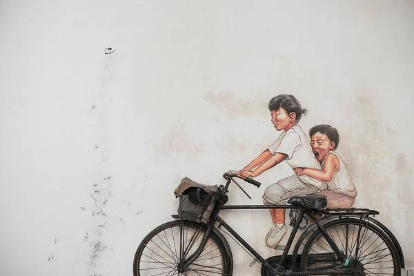 Photograph - The Bicycle by Henry Co