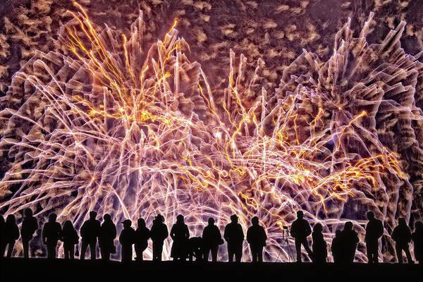 Digital Art - The Big Bang by Becky Titus