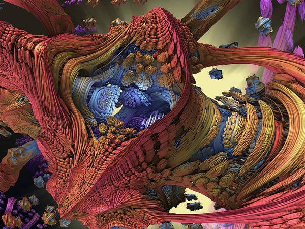 Digital Art - The Big Bang by Mary Almond