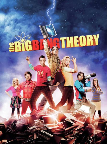 Television Digital Art - The Big Bang Theory  by Geek N Rock