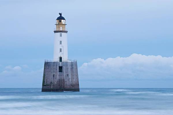 Photograph - The Big Blue North Sea by Stephen Taylor