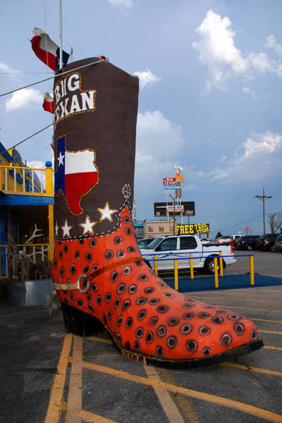 Photograph - The Big Boot by Susanne Van Hulst