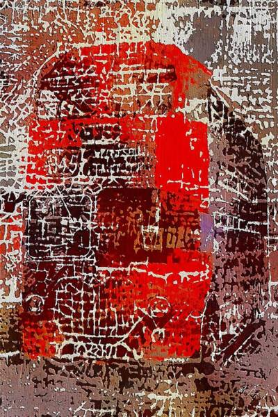 Painting - The Big Red Bus by Mark Taylor