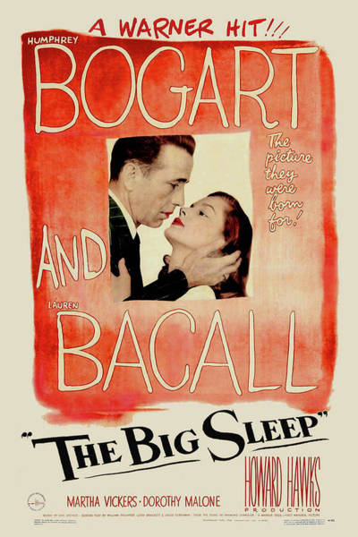 Mixed Media - The Big Sleep 2 by Movie Poster Prints