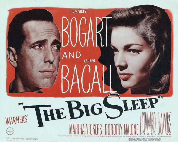 Mixed Media - The Big Sleep 3 by Movie Poster Prints