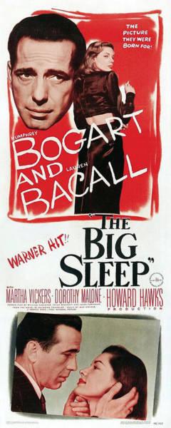 Wall Art - Mixed Media - The Big Sleep 4 by Movie Poster Prints