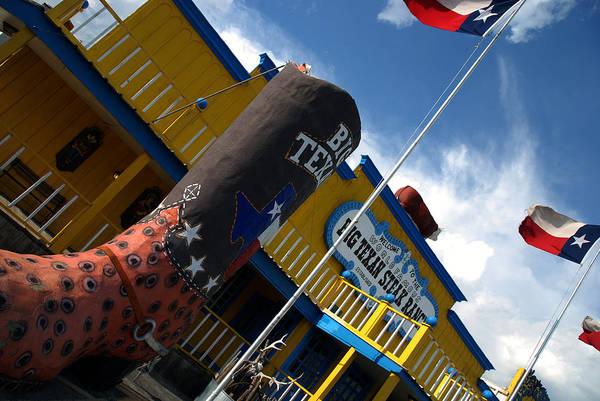 Photograph - The Big Texan II by Susanne Van Hulst