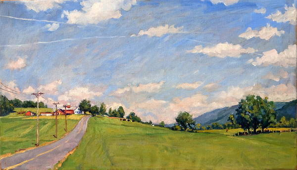 Painting - The Big View Berkshires by Thor Wickstrom