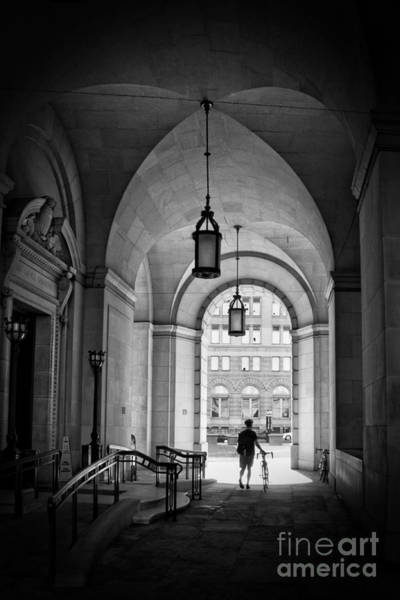Federal Triangle Wall Art - Photograph - The Biker by Tom Gari Gallery-Three-Photography