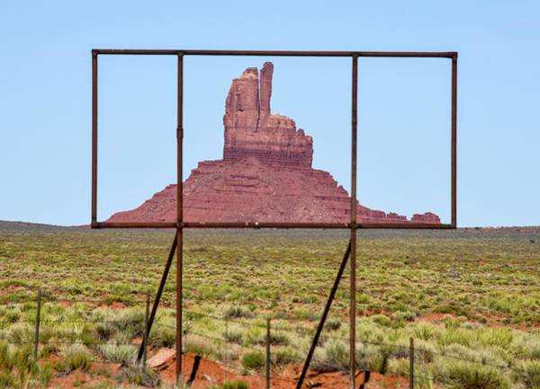 Monument Valley Photograph - Utah Billboard by Rand