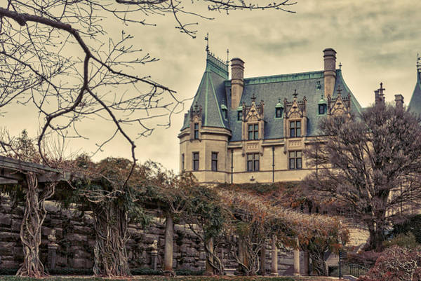 Photograph - The Biltmore Mansion In The Fall by Robert FERD Frank