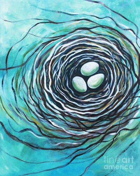 Painting - The Bird Nest by Elizabeth Robinette Tyndall