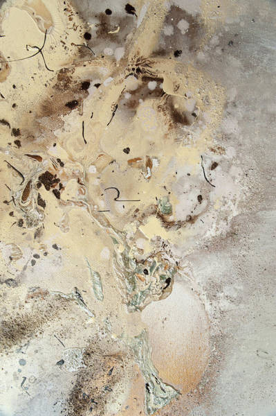 Painting - The Birth Of Universe.  Abstract Fragment 5 by Anna Skorko