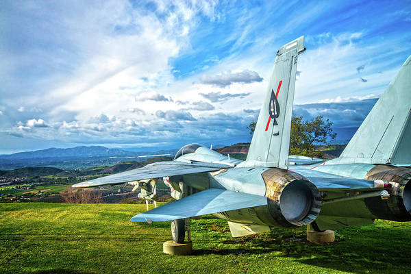 Photograph - The Black Ace Squadron F14a Fighter Jet by Lynn Bauer