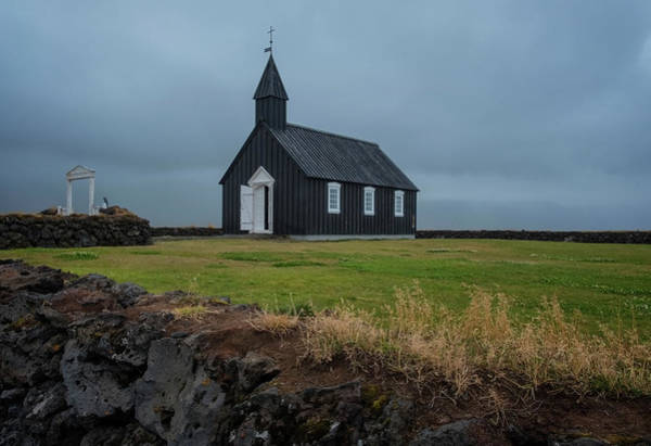 Photograph - The Black Church by Tom Singleton