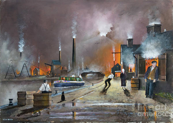 Painting - The Black Country Man by Ken Wood