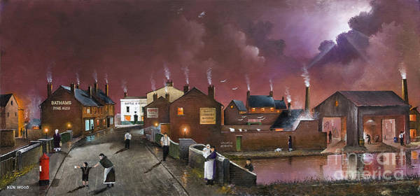 Painting - The Black Country Museum by Ken Wood