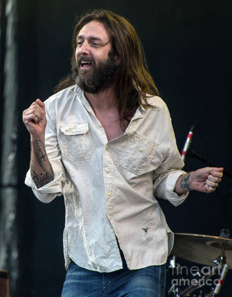 Black Crowes Wall Art - Photograph - The Black Crowes by David Oppenheimer