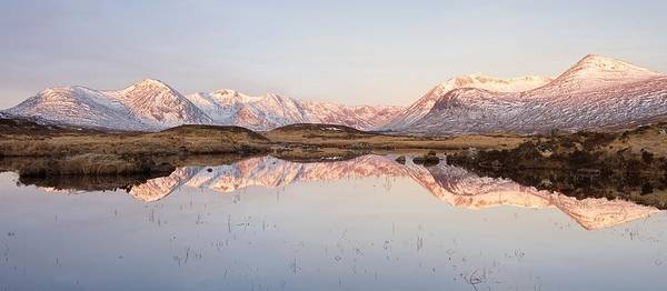 Photograph - The Black Mount Range  by Stephen Taylor