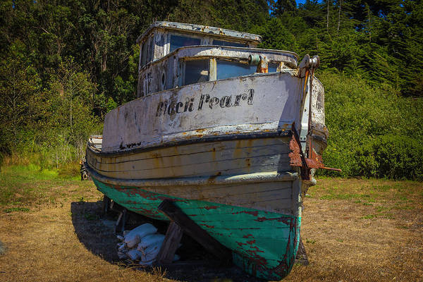 Dry Dock Photograph - The Black Pearl by Garry Gay