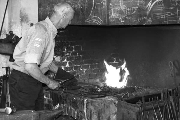 Photograph - The Blacksmith by Aidan Moran
