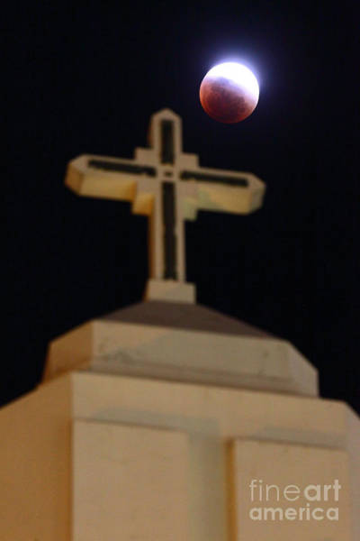 Photograph - The Blood Moon Prophecies by James Brunker