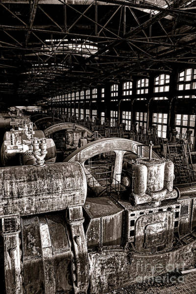 Copyright Wall Art - Photograph - The Blower House At Bethlehem Steel  by Olivier Le Queinec