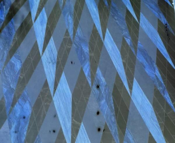 Photograph - The Blue Dimension by Karen J Shine